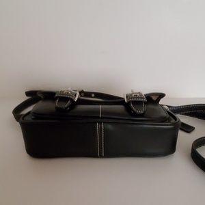 Coach Bags - Coach black leather crossbody bag